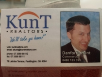 The ultimate realtors business card