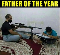 The undisputed father of the year
