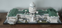 The updated LEGO Capitol building is fire