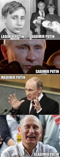 The versions of Putin