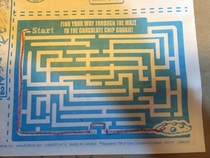The worst kids menu maze I thought we did it wrong