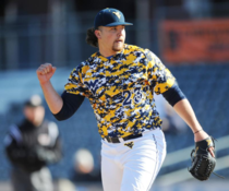 The Yankees new draft pick looks like Kenny Powers x-post from rbaseball