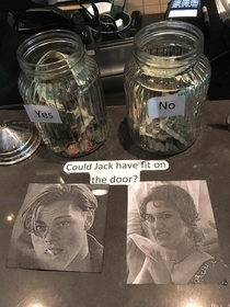 The yes jar is gonna make a killing