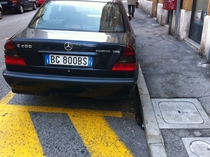 There are no vanity plates in Italyits a one in million chance