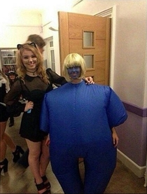 There are two types of girls on Halloween