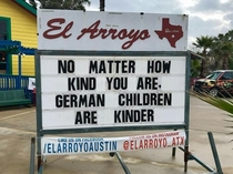 Theres kind and then theres kinder
