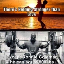 Theres nothing stronger than love