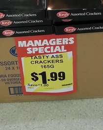 These crackers must be really tasty