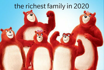 These fucking bears lookin all smug with their money