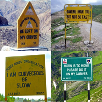 These Indian road signs