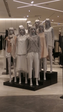 These mannequins are terrifying