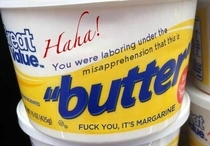 These margarine brands are getting ridiculous
