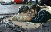 These potholes are getting out of control