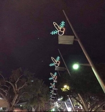 These Unfortunate Christmas Lights