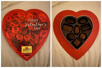 These Valentines Day chocolates