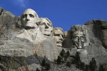 They changed the mount rushmore