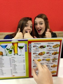 They were happy because they thought they had balanced the menu