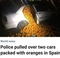 Things are getting serious in Spain
