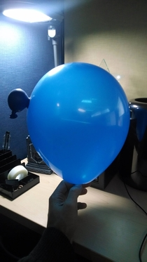 This balloon has a parasitic twin