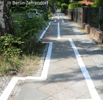This Bicycle Path in Berlin