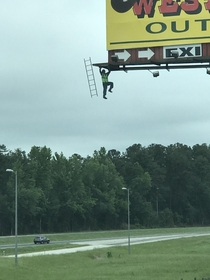 This billboard in Alabama