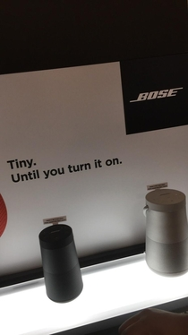 This Bose advertisement made me laugh
