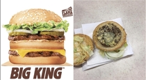 This Burger King my brother ordered