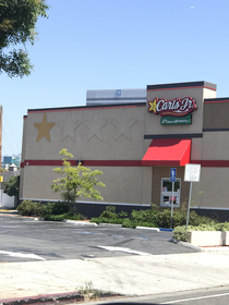 This Carls Jr looks like it has a bad yelp review