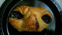 This chocolate croissant is really from another planet