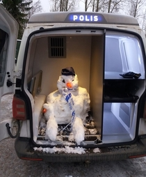 This cold-blooded criminal was caught by the police in Haapavesi Finland
