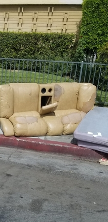 This couch has seen some shit