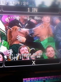 This Couple started making out for the Kiss Cam at a Dallas Stars Game