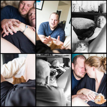 This couples birthing pics for adopting a cat