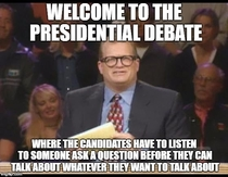This debate right now