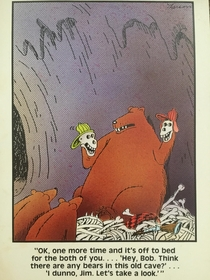This Far Side card from  I found while packing to move