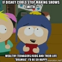 This goes for nickelodeon too