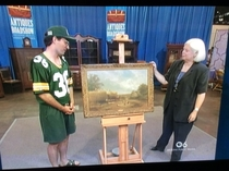 This Green Bay Packers fan on Antiques Roadshow
