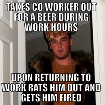 This guy is the reason you dont have a beer for lunch while working