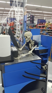This Halloween decor at my Wal-Mart