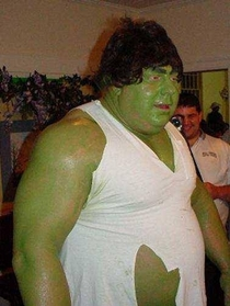 This Hulk looks a lot like Shrek