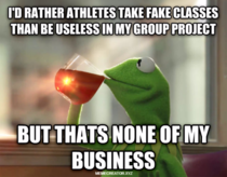 This I remember about Student Athletes in College