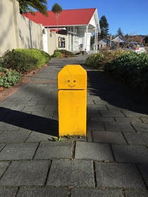This is a happy post