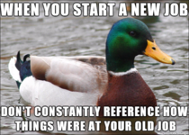 This is by far the most annoying thing about new employees