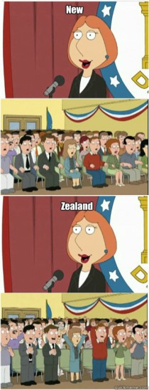 This is for all the Kiwis out there