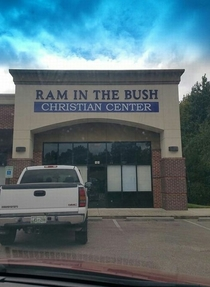 This is my kind of place of worship