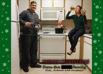 This is the Christmas card we sent out this year after being bothered by countless family members to make one