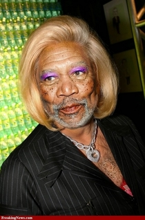 This is the first image that pops up when you Google Morgan Freeman Sister