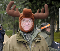 This is the king of Sweden There are countless of pictures with him wearing silly hats