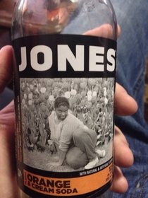 This is the picture on my Jones Soda bottle