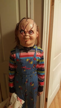 This is what my niece went as for Halloween
